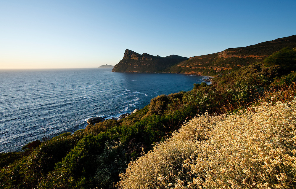 Panoramic View of Cape Point Cape Peninsula South Africa