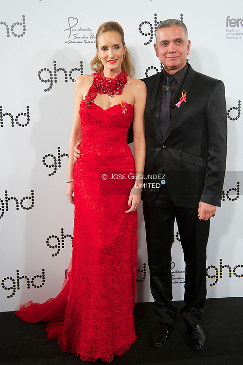 Sandra Ibarra and Juan Ramon Lucas attend Elsa Pataky and Ghd Charity Dinner at Casino de Madrid on 28 November, 2012 in Madrid