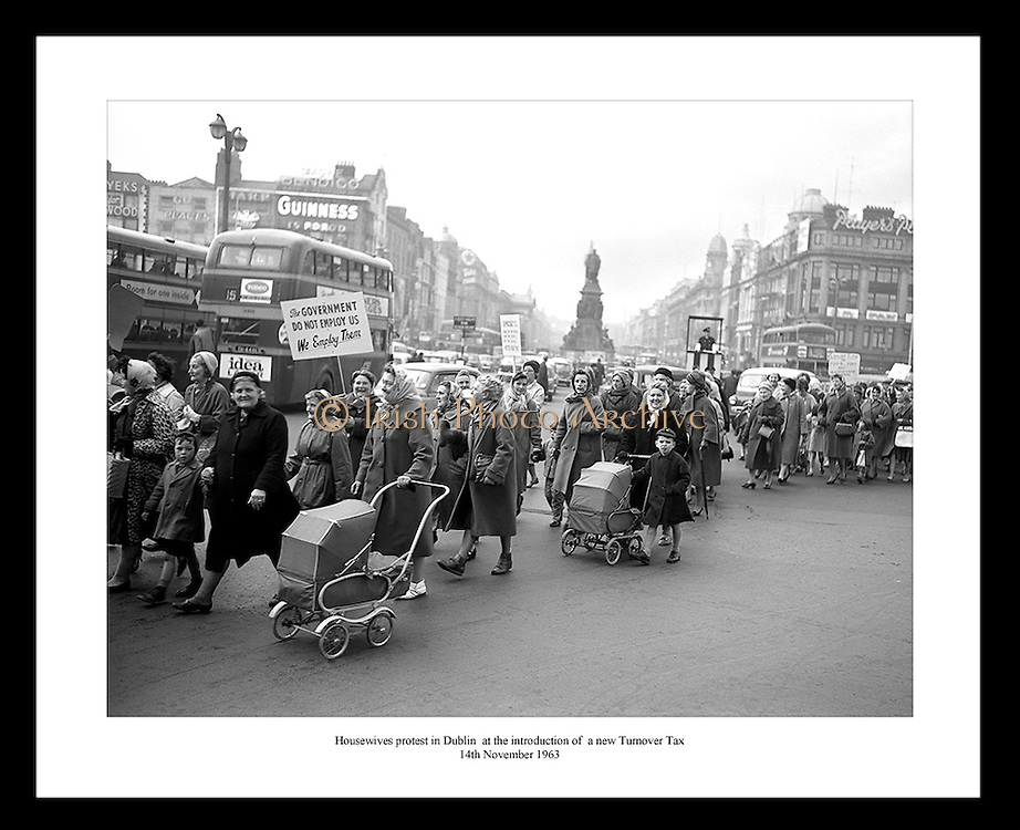 Great historical picture of housewives protesting in Dublin. Irish Photo Archive has hundreds of Irish historical images in their photo gallery.