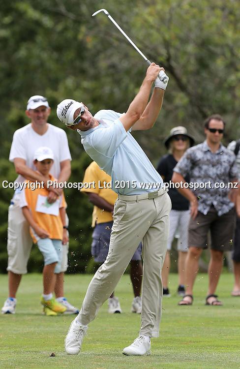 Australia`s Jordan Zunic in the Holden NZ PGA Championship, Remuera Golf Club, Auckland, New Zealand, Saturday, March 07, 2015. Copyright photo: David Rowland/www.photosport.co.nz