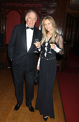 BARON THIERRY VAN ZUYLEN and SABINA MCTAGGART at a fundraising dinner in aid of the Hoedspruit Endangered Species Foundation in the presence of TRH Rrince & Princess Michael of Kent at Kensington Palace, London on 2nd March 2006.<br />