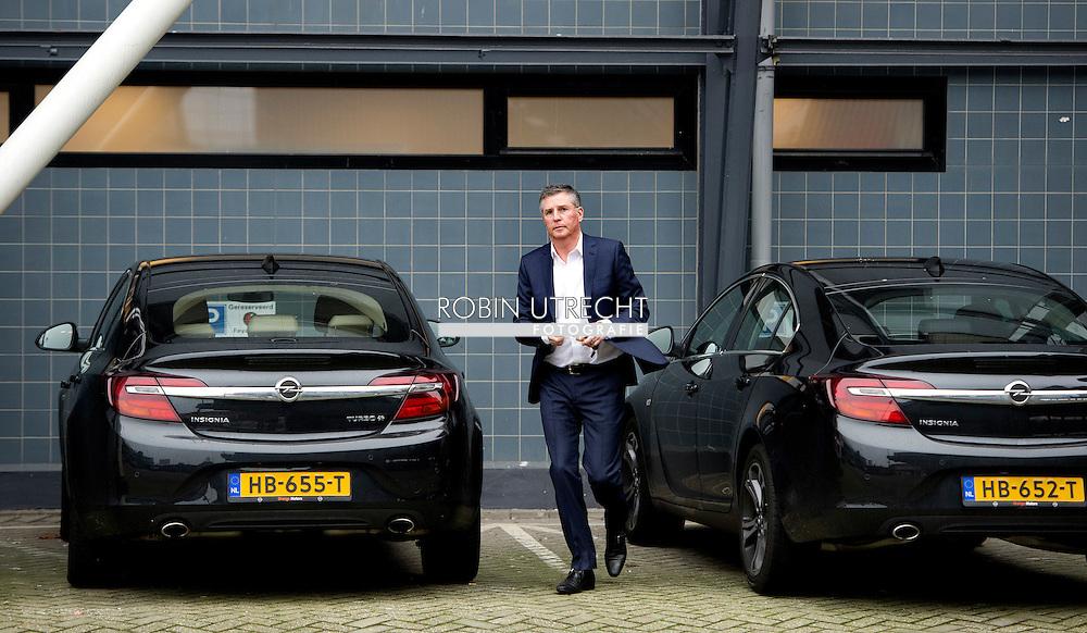 AMSTERDAM - Feyenoorder Vejinovic met dood bedreigd<br /> Crisis in De Kuip 02-02-2016 VOETBAL: TRAINING FEYENOORD: ROTTERDAM  Martin van Geel  COPYRIGHT MICHEL UTRECHT