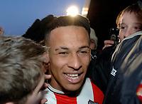 Photo: Daniel Hambury.<br />Brentford v Sunderland. The FA Cup. 28/01/2006.<br />Brentford's two goal hero, Dudley Campbell.