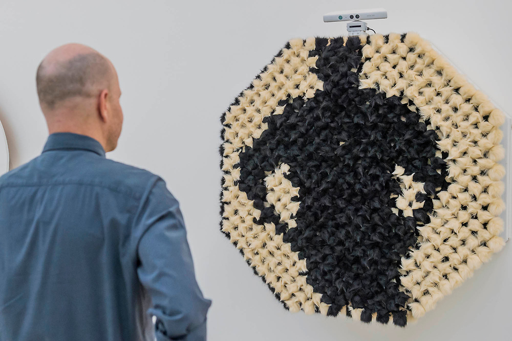 Pom Pom Mirror by Daniel Rozin (pictured) - From Selfie to Self-Expression at the Saatchi Gallery. The exhibition looks at the history of the Selfie from portrait artists though to modern day selfies and features self-portraits by Rembrandt, Van Gogh, Lucian Freud, Cindy Sherman, Tracey Emin, through to modern day selfies from Kim Kardashian, Hillary Clinton, Ryan Gosling, Trump and others. In addition part of the exhibition includes an international selfie competition; over 14,000 selfies have been submitted to the competition and will be exhibited at the gallery alongside other art works. The show is sponsored by Huawei and runs from 31st March – 30th May 2017.