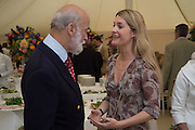 PRINCE MICHAEL OF KENT; KINVARA BALFOUR, Goodwood Festival of Speed Cartier lunch. 27 June 2015