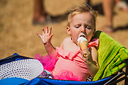 Hot, time for an ice cream - The 2018 Latitude Festival, Henham Park. Suffolk 14 July 2018