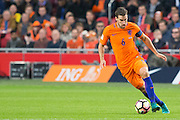 Kevin Strootman during the FIFA World Cup Qualifier match between Netherlands and France at the Amsterdam Arena, Amsterdam, Netherlands on 10 October 2016. Photo by Gino Outheusden.