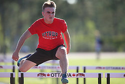 (Ottawa, Canada---17 July 2019) Luca Nicoletti competing in Ottawa Summer Twilight Track and Field Meet #6 at the Terry Fox Athletic Facility. 2019 Copyright Sean Burges / Mundo Sport Images.