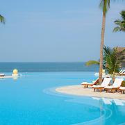 Main pool at The Grand Velas Nuevo Vallarta Resort. Nayarit. Mexico.