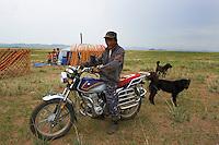 Mongolie, province de Tov, nomade // Mongolia, Tov province, nomad
