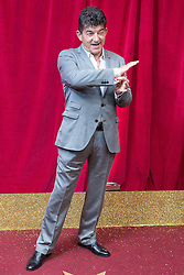 © Licensed to London News Pictures . 16/05/2015 .  The Palace Hotel , Manchester , UK . John Altman . The red carpet at the 2015 British Soap Awards , The Palace Hotel , Oxford Road , Manchester . Photo credit : Joel Goodman/LNP
