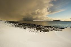 Hornøya seen from Vardø, Varanger, Norway