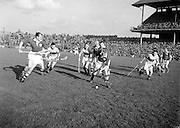 Hurling, Oireachtas Final, Croke Park, Clare v Wexford. ..25.10.1953, 10.25.1953, 25th October 1953
