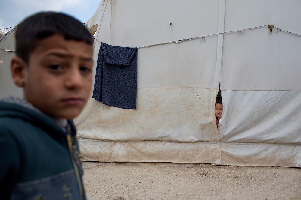 Dohuk, Irak<br /> <br /> Barn i et l&auml;ger utanf&ouml;r Dohuk.<br /> Photo: Niclas Hammarstr&ouml;m