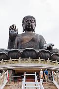 Tian Tan Buddha at Po Lin Monastery, Lantau Island