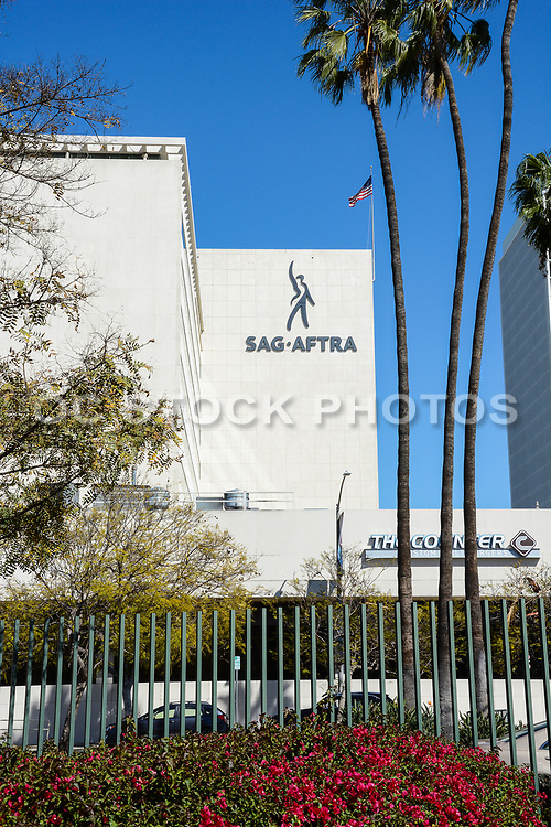 SAG-AFTRA Building Taken From The LaBrea Tar Pits