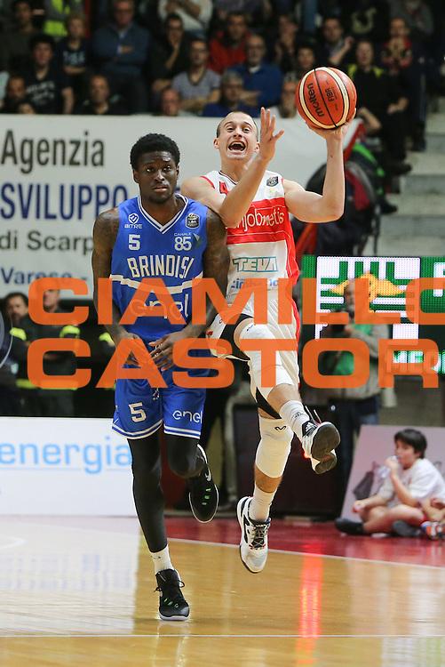 Avramovic Aleksa<br /> Openjobmetis Varese - Enel Brindisi<br /> LegaBasket 2016/2017<br /> Varese 23/10/2016<br /> Foto Ciamillo-Castoria