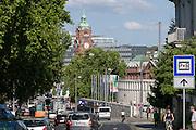 Hauptbahnhof und Liliencarree, Wiesbaden, Hessen, Deutschland | main railway station, Wiesbaden, Hesse, Germany