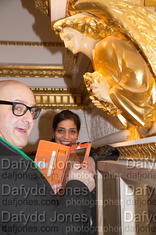 EDWARD AYDIN; WAFA AL SHAMI, Sensing Spaces, Architecture Reimagined. Royal Academy. Piccadilly. 21 January 2014