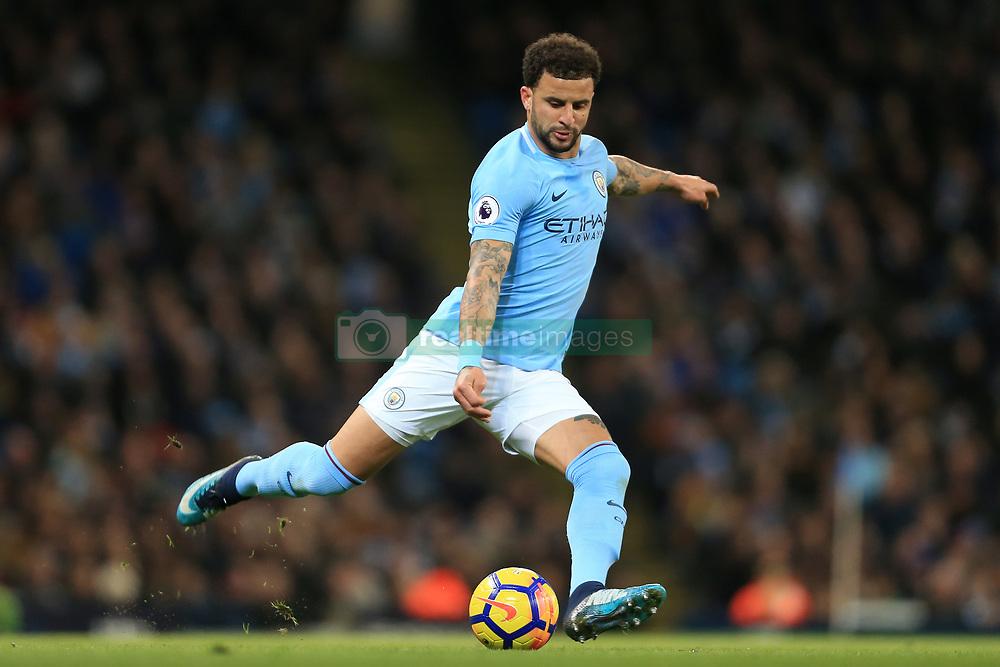 3rd December 2017 - Premier League - Manchester City v West Ham United - Kyle Walker of Man City - Photo: Simon Stacpoole / Offside.