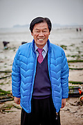 "Portrait of a visitor to Jindo island. Jindo is the 3rd biggest island in South Korea located in the South-West end of the country and famous for the ""Mysterious Sea Route"" or ""Moses Miracle""."