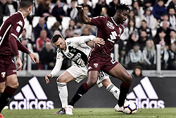 May 3, 2019 - Torino, Torino, Italia - Foto LaPresse - Marco Alpozzi.03 Maggio 2019 Torino, Italia .Sport.Calcio.Juventus Fc vs Torino Fc - Campionato di calcio Serie A TIM 2018/2019 - Allianz Stadium..Nella foto: Federico Bernardeschi (Juventus F.C.);Soualiho Meite (Torino Fc); ..Photo LaPresse - Marco Alpozzi.May 03, 2019 Turin, Italy.sport.soccer.Juventus Fc vs Torino Fc - Italian Football Championship League A TIM 2018/2019 - Allianz Stadium..In the pic: Federico Bernardeschi (Juventus F.C.);Soualiho Meite  (Credit Image: © Marco Alpozzi/Lapresse via ZUMA Press)