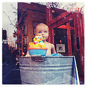 window, Cowgirl, Hudson Street