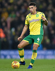 Norwich City's Ben Godfrey during the Sky Bet Championship match at Carrow Road, Norwich.