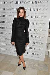 BILLIE JD PORTER at the Tatler Little Black Book Party held at Home House Private Member's Club, Portman Square, London supported by CARAT on 6th November 2014.