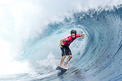 Jun 15, 2017 - Tavarua Island, Fiji - Rookie CONNOR O'LEARY of Australia advances to the semifinals of the Outerknown Fiji Pro after defeating fellow rookie Joan Duru of France in quarterfinal heat 3 in excellent Cloudbreak conditions. (Credit Image: © Cestari/WSL via ZUMA Wire/ZUMAPRESS.com)