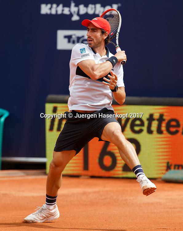 PABLO CUEVAS (URU)<br /> <br /> Tennis - Generali-Kitzbuehel-Open2017 - ATP 250 -  Kitzbuehler Tennis Club - Kitzbuehel - Tirol - Oesterreich  - 2 August 2017. <br /> &copy; Juergen Hasenkopf