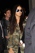 Sept. 11, 2014 - New York, NY, United States - <br /> <br /> Marc Jacobs arrivals<br /> <br /> Adriana Lima arrives at the Marc Jacobs fashion show during Mercedes-Benz Fashion Week Spring 2015 at Park Avenue Armory on September 11, 2014 in New York City <br /> ©Exclusivepix
