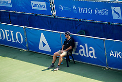 Line referee Bostjan Kreutz during Day 5 at ATP Challenger Zavarovalnica Sava Slovenia Open 2018, on August 7, 2018 in Sports centre, Portoroz/Portorose, Slovenia. Photo by Vid Ponikvar / Sportida