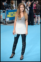 Lucy Watson arrives for the We're The Millers - European Film Premiere. Odeon, London, United Kingdom. Wednesday, 14th August 2013. Picture by Andrew Parsons / i-Images