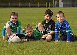 Watching on as Connacht junior&rsquo;s played their Leinster counterparts  at the Green Ballinrobe on saturday last.<br />Eanna Malone, Cian Treacy, Tommy Feeney and Patrick Duffy<br />Pic Conor McKeown