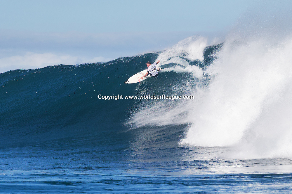 THIS IMAGE CAPTION: MARGARET RIVER, Western Australia (Saturday, April 18, 2015): Taj Burrow of Busselton, Western Australia, Australia (pictured) winning his round 4 heat of the Drug Aware Margaret River Pro at the main break and advancing into the quarter finals on Saturday April 18, 2015. <br /> <br /> IMAGE CREDIT: WSL / Cestari<br /> PHOTOGRAPHER: Kelly Cestari<br /> SOCIAL MEDIA TAG: @wsl @kc80<br /> <br /> The images attached or accessed by link within this email (&quot;Images&quot;) are hand-out images from the Association of Surfing Professionals LLC (&quot;World Surf League&quot;). All Images are royalty-free but for editorial use only. No commercial or other rights are granted to the Images in any way. The Images are provided on an &quot;as is&quot; basis and no warranty is provided for use of a particular purpose. Rights to an individual within an Image are not provided. Copyright to the Images is owned by World Surf League. Sale or license of the Images is prohibited. ALL RIGHTS RESERVED.