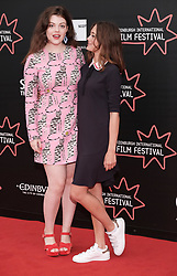 Edinburgh International Film Festival, Friday 30th June 2017<br /> <br /> ACCESS ALL AREAS (WORLD PREMIERE)<br /> <br /> Actors Georgie Henley and Ella Purnell <br /> <br /> (c) Alex Todd | Edinburgh Elite media