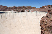 Hoover Dam, Boulder City, Nevada.