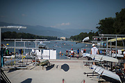 Plovdiv BULGARIA. 2017 FISA. Rowing World U23 Championships. <br /> <br /> Wednesday. AM, general Views, Course, Boat Area<br /> 09:22:59  Wednesday  19.07.17   <br /> <br /> [Mandatory Credit. Peter SPURRIER/Intersport Images].