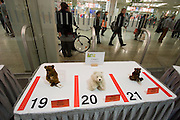 Spielwarenmesse Nürnberg (International Toy Fair Nuremberg) 2005. World's biggest toy fair. Teddy bear competition.