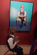RUFUS HALE, David Hockney RA: 82 Portraits and 1 Still-life. Royal Academy of Arts. Piccadilly. London. 28 June 2016