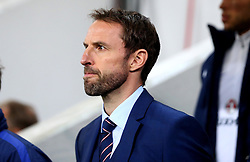 Interim England Manager Gareth Southgate - Mandatory by-line: Robbie Stephenson/JMP - 11/10/2016 - FOOTBALL - RSC Stozice - Ljubljana, England - Slovenia v England - World Cup European Qualifier