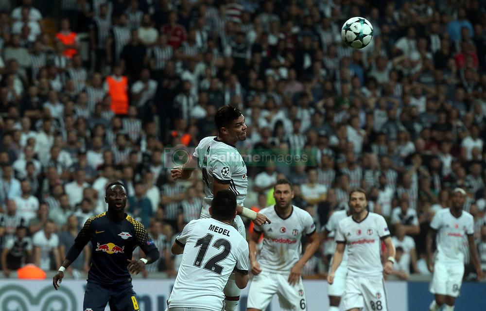 Pepe of Besiktas during Besiktas vs. Leipzig UEFA Champions League game at Vodafone Park, Istanbul, September 26, 2017. Photo by Depo Photos/ABACAPRESS.COM