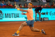 Rafael Nadal during the Madrid Open at Manzanares Park Tennis Centre, Madrid<br /> Picture by EXPA Pictures/Focus Images Ltd 07814482222<br /> 06/05/2016<br /> ***UK &amp; IRELAND ONLY***<br /> EXPA-ESP-160506-0029.jpg