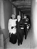 1952 Arrival of Sean T O'Ceallaigh