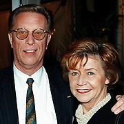 Nieuwjaarsreceptie Strengholt 1997, John de Mol sr.+ vrouw