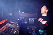 DJ Pete Tong dj'ing at World DJ Day Fabric London March 2002