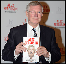 OCT 22 2013 Sir Alex Ferguson book launch