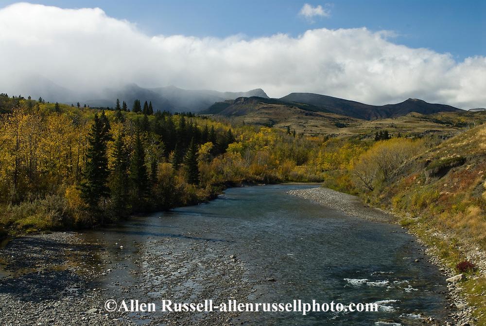 Blackfeet Indian Reservation, Badger Creek, Montana