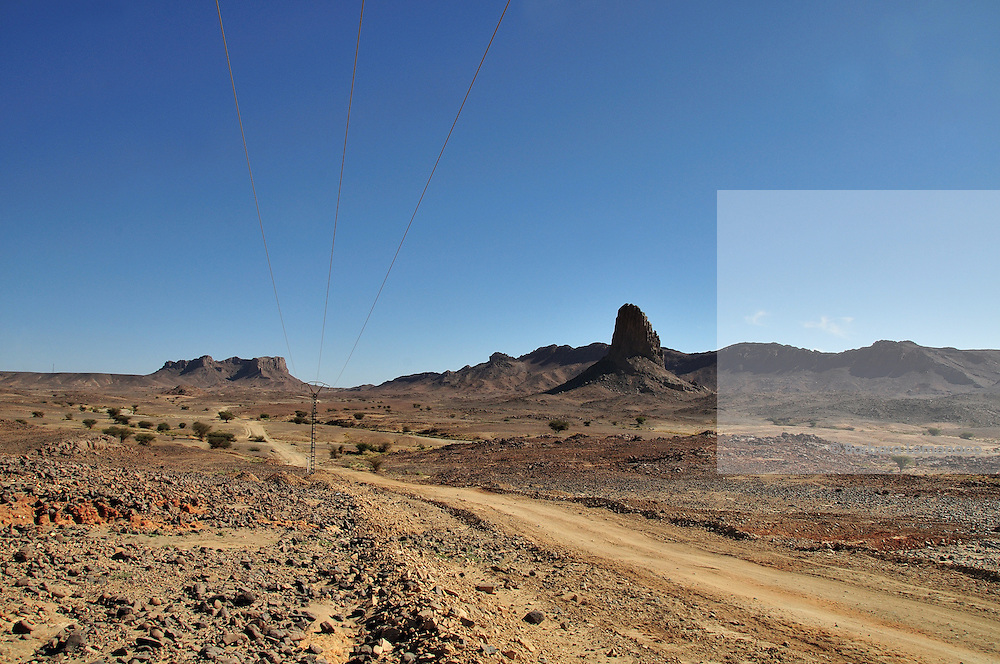"On the road to the ""Assekrem"" from Tamanrasset, Algeria."